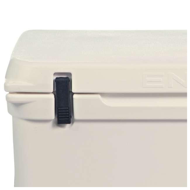 ENG80-CW-U-A Engel Coolers 74 Quart 75 Can Roto Molded Cooler, Coastal White (Open Box) 2