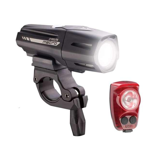 MTR-800-150 Cygolite Metro Plus 800 Headlight & Hotshot Pro 150 Taillight USB Combo Set