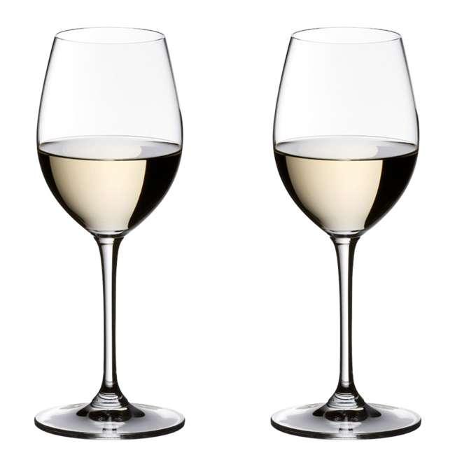 6416/33 Riedel Vinum Crystal Sauvignon Blanc/Small Dessert White Wine Glass (2 Pack)