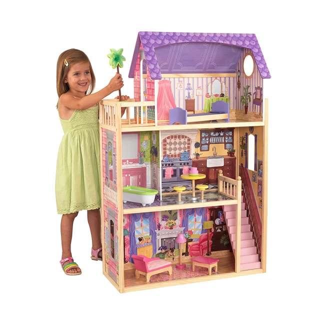 KDK-65092-U-A KidKraft Kids' Kayla Wooden Dollhouse and Furniture Pieces (Open Box) (2 Pack)