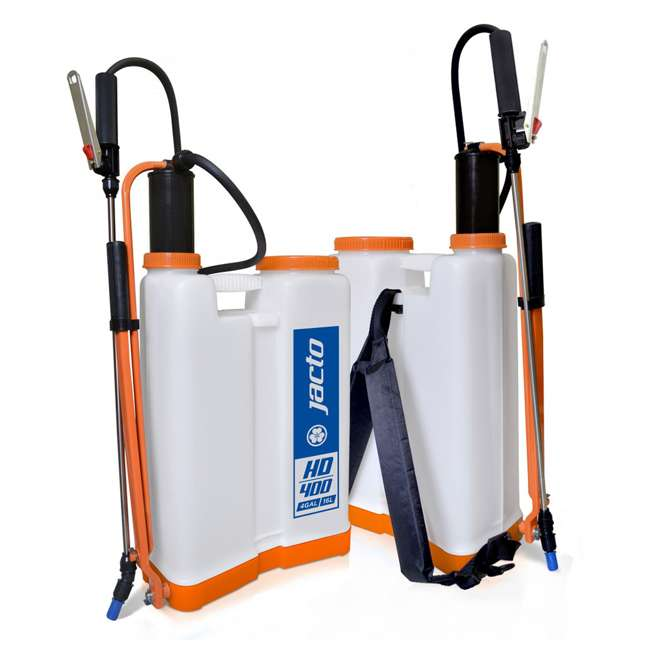 JACTO-1210802-U-A Jacto Right/Left Hand Operation 4 Gallon Chemical Backpack Sprayer (Open Box) 5
