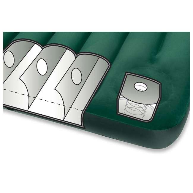 66929E-U-A Intex Queen Downy Air Bed Camping Mattress w/ Pump 66929E (Open Box) (2 Pack) 2