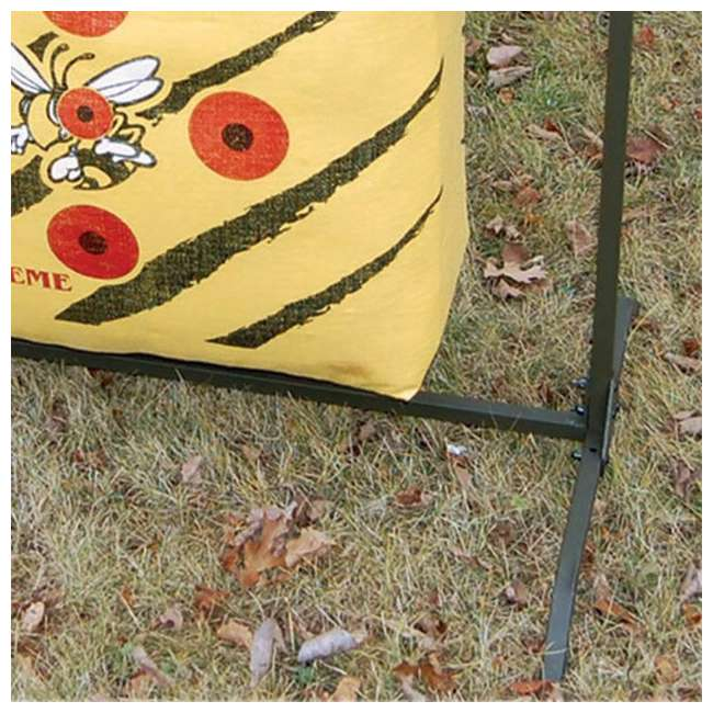 HME-BTS HME Bowhunting Archery Range 30-Inch Bag Target Stand 3