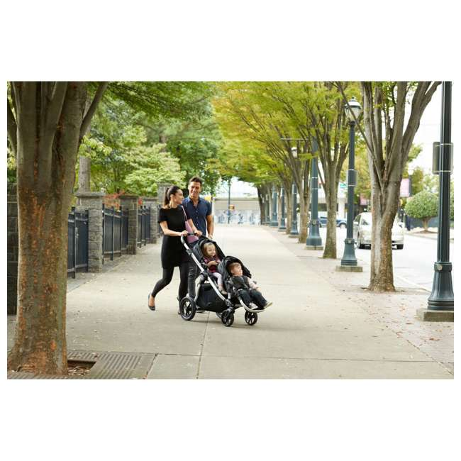 1959407 + 2050966 Baby Jogger City Select Customizable Stroller + Baby Jogger Pram Bassinet 5