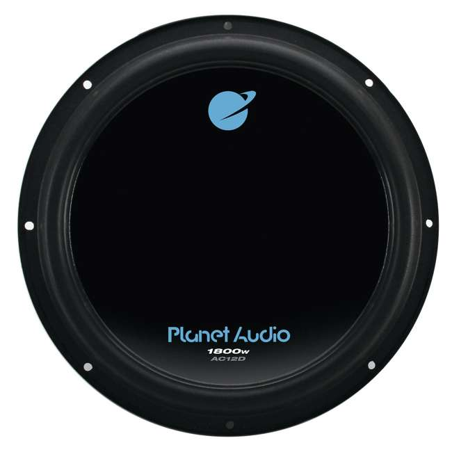 "4 x AC12D + QBASS12 Planet Audio 12"" 1800W Subwoofers (4 Pack) & Dual 12"" Vented Sub Box 1"