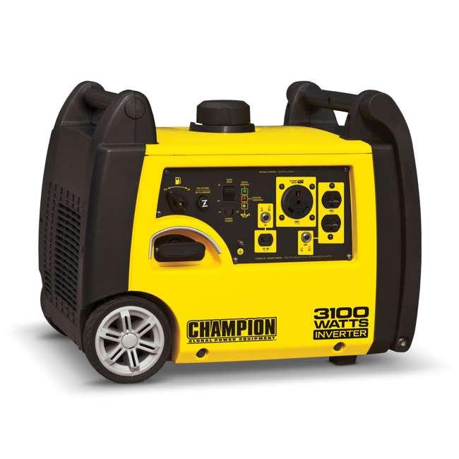 CPE-GN-75531i Champion 3100-Watt Portable RV Ready Inverter Generator (2 Pack) 1