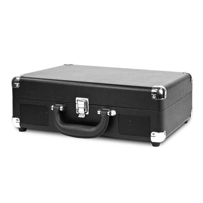 VSC-550BT-BK Victrola 3-Speed Bluetooth Suitcase Record Player, Black 1