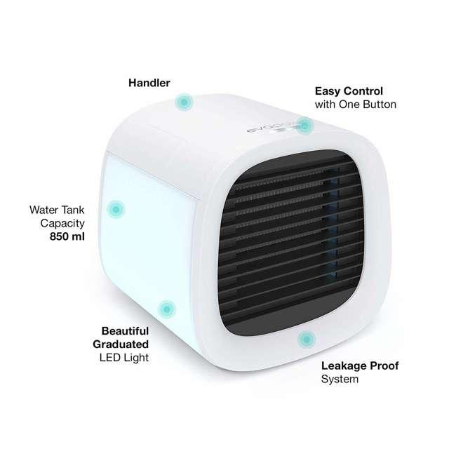 EV-500W Evapolar EV-500W evaCHILL Personal Evaporative Humidifier Air Conditioner, White 7
