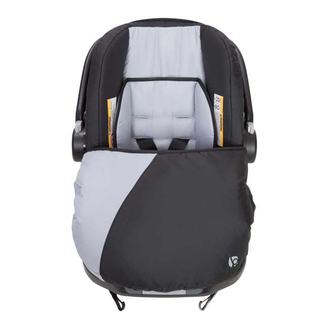 SS76B51A + 2 x CS79B51A Baby Trend Sit N Stand Tandem Stroller + Car Seats (2) Travel System, Stormy 10