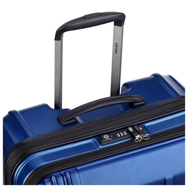 """40207982002 DELSEY Paris Cruise Lite 2.0 25"""" Hardside Expandable Suitcase Travel Bag, Blue 4"""