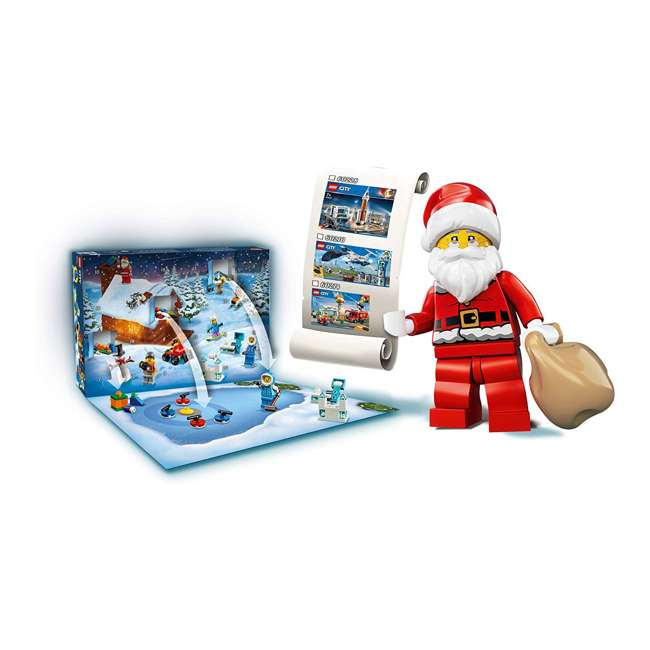 6251831 LEGO 60235 2019 Advent Calendar Block Building Kit w/ 7 Minifigures, 234 Piece 6