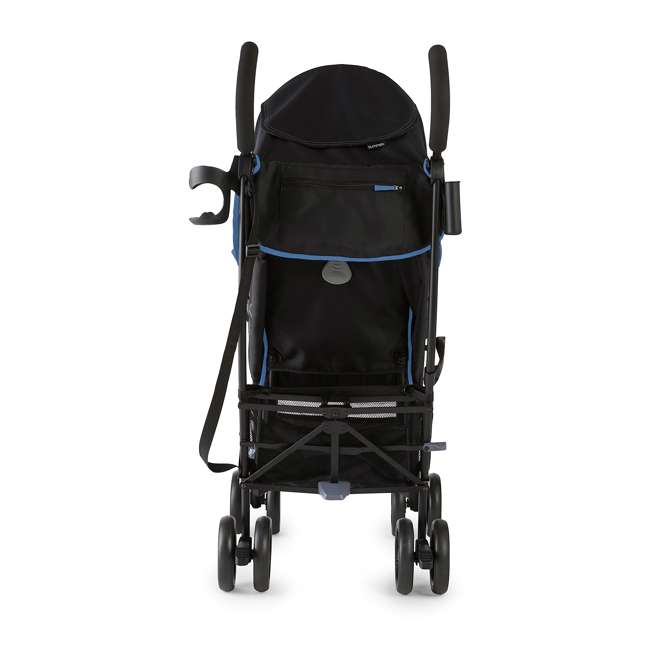 32773 Summer Infant 3DlitePlus Convenience One-Hand Adjustable Stroller Blue/Black 3
