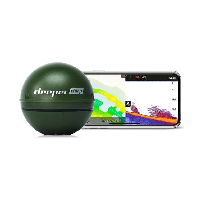 ITGAM0631 Deeper Chirp Smart Sonar Castable Portable Fish Finder and Depth Finder 2