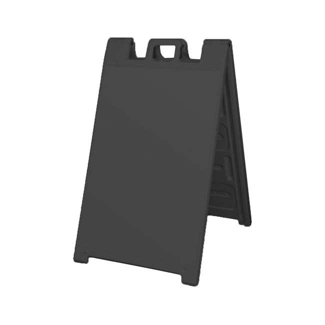 3 x 130NSBK-U-A Plasticade Signicade Plastic A Frame Sidewalk Sign Stand (Open Box) (3 Pack) 1