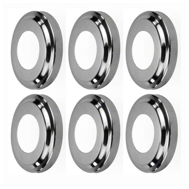 6 x 87904 Swimline Replacement Escutcheon Plate In-Ground Pool (6 Pack)