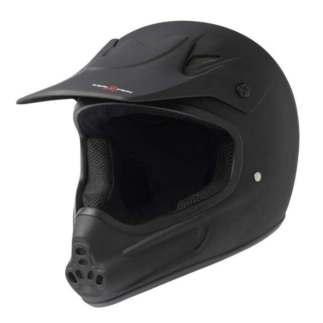 T8-3700-U-B Triple 8 Dual Certified EPS Mountain Bike Invader Helmet, Size XS/S (Used)