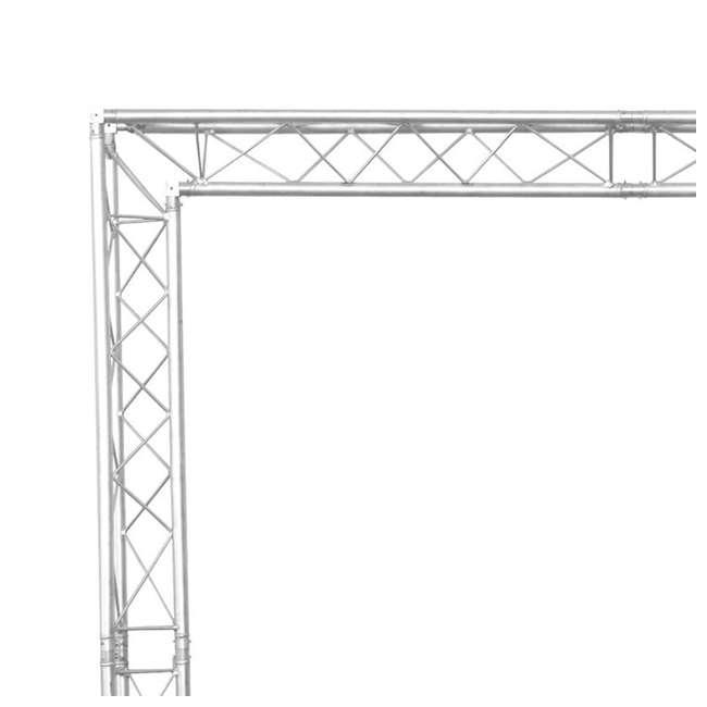 global truss 8 x 8 foot mobile dj goalie post truss system truss system. Black Bedroom Furniture Sets. Home Design Ideas