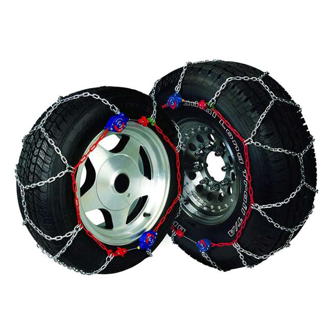 0231805-U-A Auto-Trac 2300 Series Tightening and Centering Snow Tire Chains (Open Box) 3