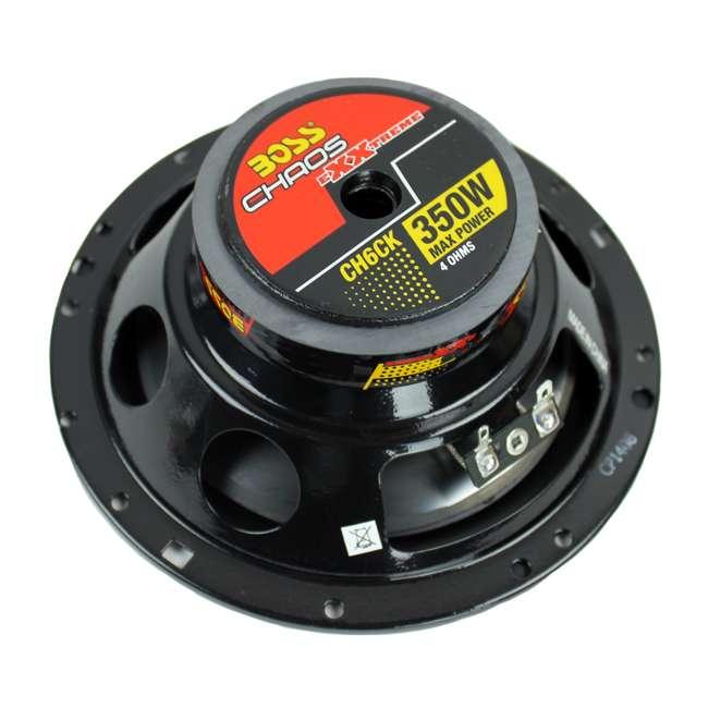 6 x CH6CK Boss 6.5-Inch 350 Watt Component Speaker Systems (6 Pack) 7