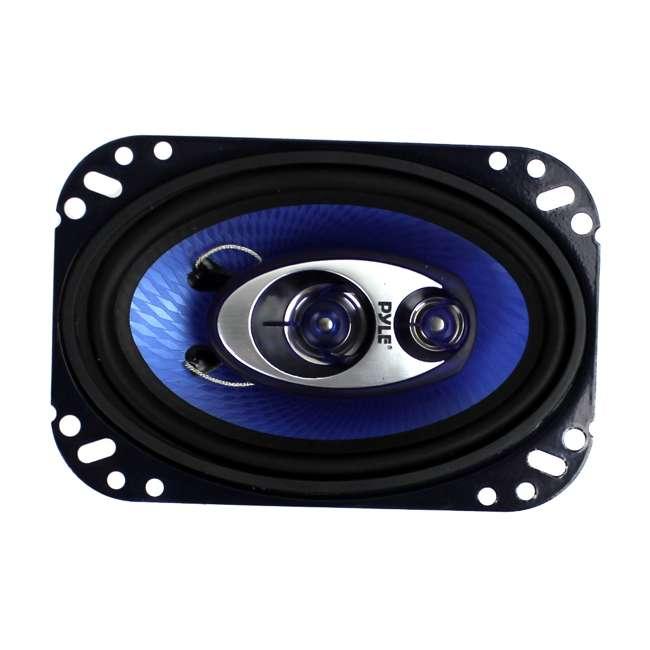 12 x PL463BL Pyle PL463BL 4x6-Inch 240W 3-Way Speakers (24 Speakers) 2
