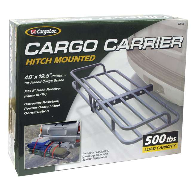 CARGO-32500 CargoLoc 32500 2-Inch Rooftop Car & SUV Cargo Hitch Mount Carrier 3