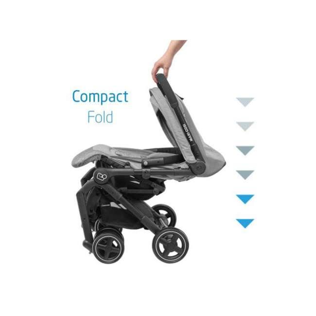 CV364ETZ Maxi-Cosi Lara Ultra Compact Foldable Lightweight Canopy Stroller, Nomad Red 4