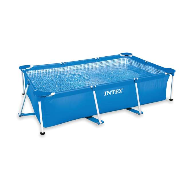 4 x 28270E Intex Rectangular-Frame Above Ground Baby Swimming Pool (Open Box) (4 Pack)