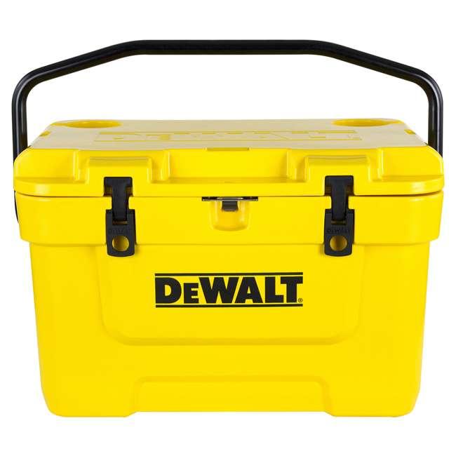 DXC25QT DeWalt 25-Quart Insulated Lunch Box Portable Cooler, Yellow 5