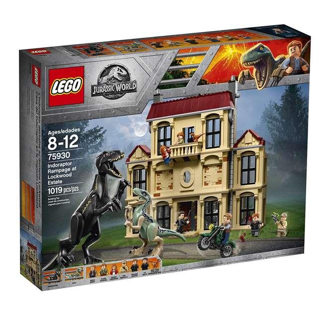 6212620-U-B LEGO Jurassic World Indoraptor Rampage at Lockwood Estate Build Kit (Used) 3