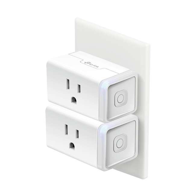 TPL-HS105KIT 2-Pk TP-Link Smart Home WiFi Voice App Control Plug Mini Homekit (Open Box) 1