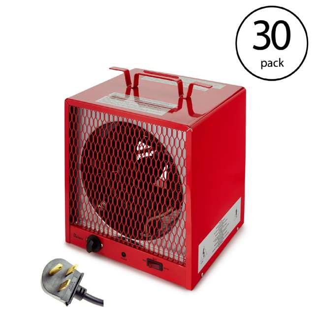 30 x DR-988R Dr. Infrared Heater 240 Volt 5600 Watt Garage Portable Space Heater (30 Pack)
