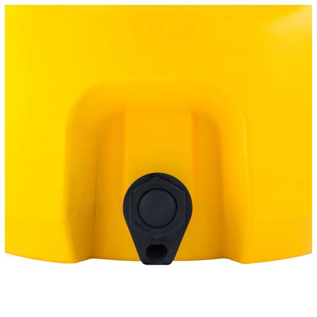 DXC5GAL-U-A DeWALT 5 Gallon Water Jug Dispenser Cooler w/ Spout & Handles, Yellow (Open Box) 6