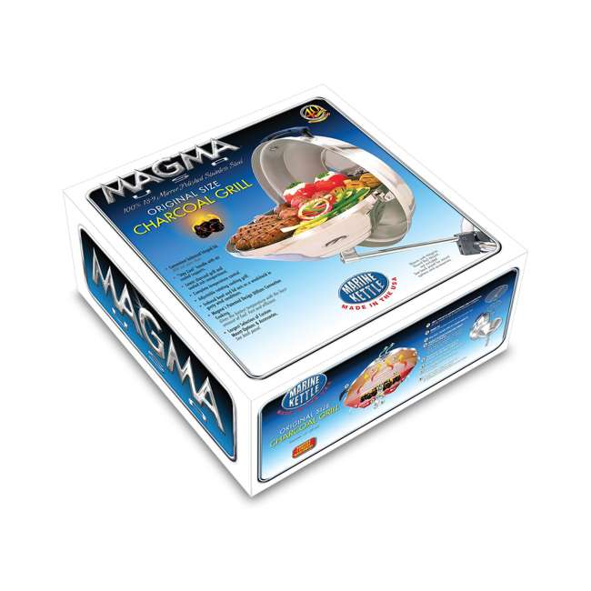 A10-104 Magma Products Marine Kettle Boat BBQ Barbecue Charcoal Grill, Original Size 3
