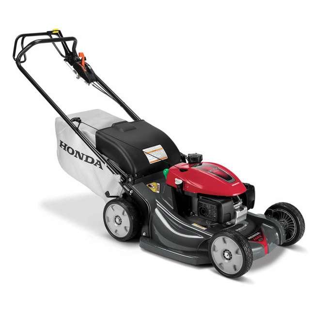 HRX217K6HYA Honda HRX217K6HYA 21 Inch 4 In 1 Versamow System Gas Walk Behind Lawn Mower, Red