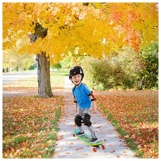 DYH05 Fisher-Price Kids Convertible Grow to Pro 3-in-1 Skateboard 4