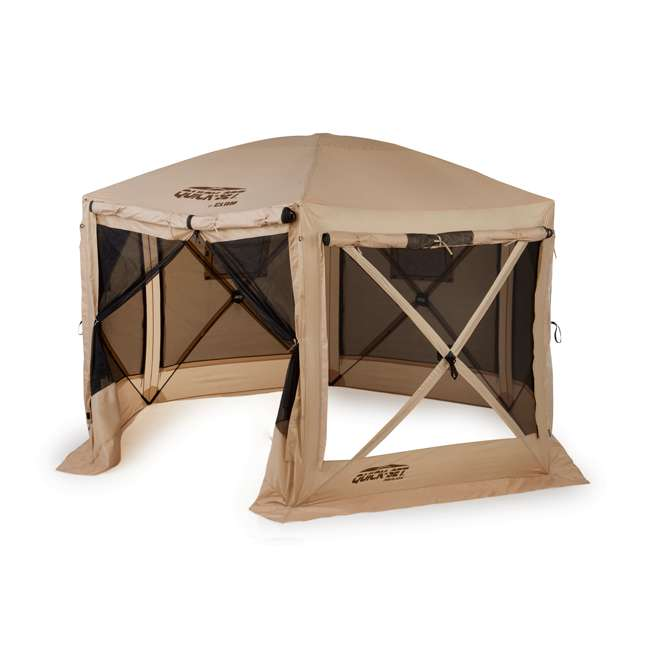 CLAM-PV-114244 Clam Quick-Set Pavilion Portable Canopy (2 Pack) 1
