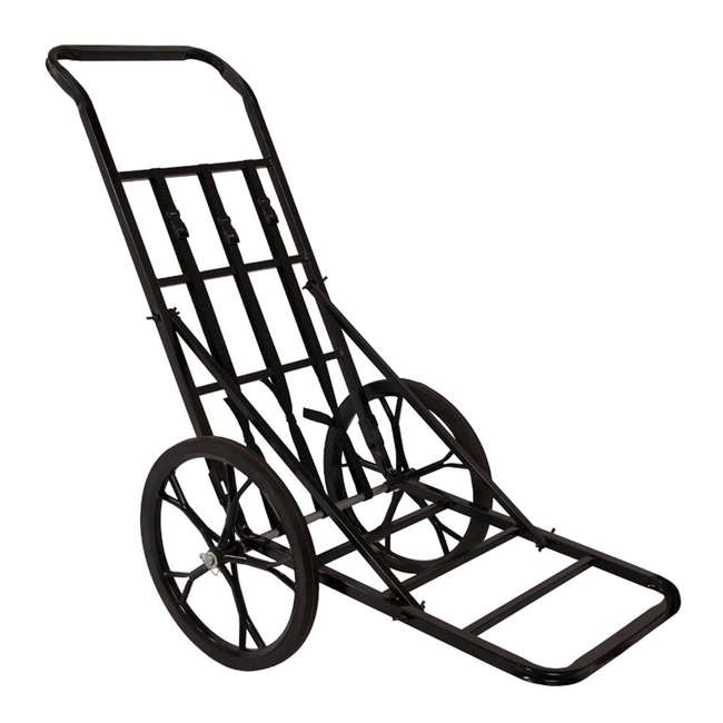 85259-CART-U-C Summit Steel 16-In Rubber Wheels Game Cart for Game Up to 350 Pounds (For Parts)