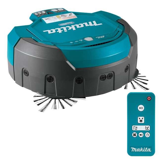 DRC200Z-OB Makita 18V X2 LXT Lithium-Ion Brushless Cordless Robotic Vacuum (Open Box) 1