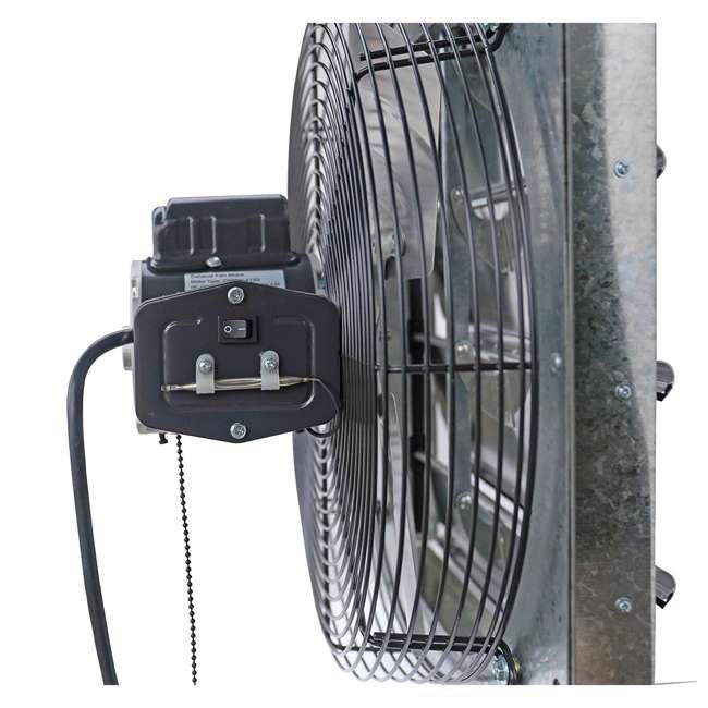 ILG8SF16V-T iLiving ILG8SF16V-T 3 Speed 16 Inch Exhaust Attic Garage Grow Fan w/ Thermostat 3