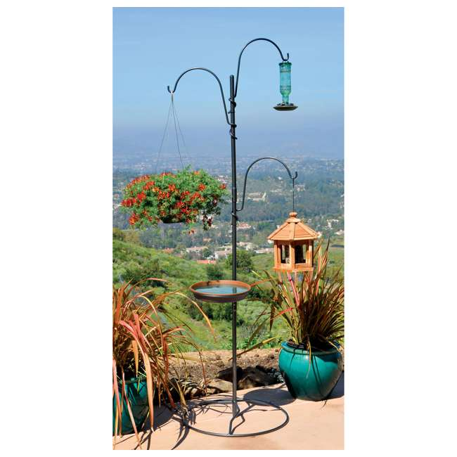 IYTBC-4 Yard Butler YTBC-4 Adjustable Bird Feeding Station and Patio Base 6