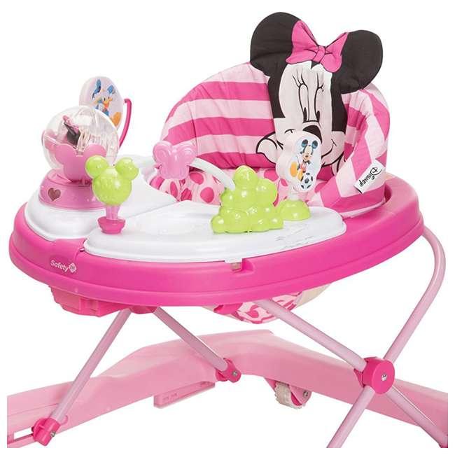 WA067CMH Disney Minnie Mouse Music and Lights Walker, Glitter Pink Minnie  3