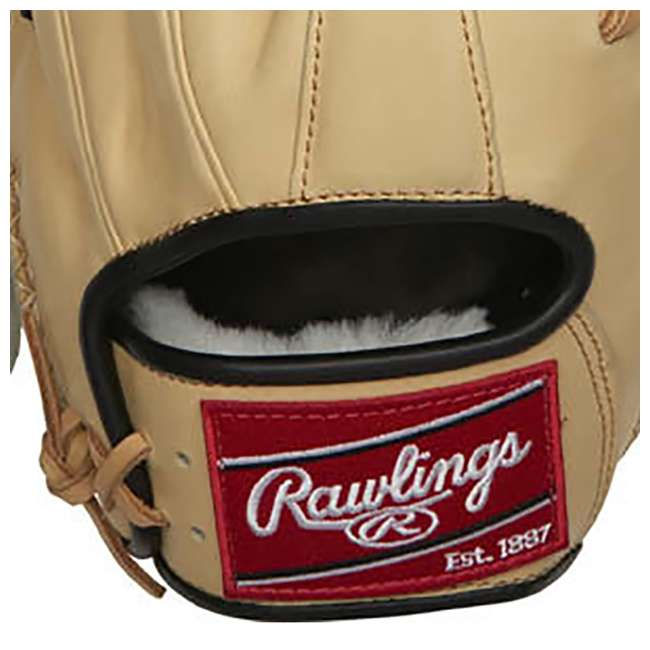 "PRO204-2BCC-OB Rawlings Pro Label 11.5"" Adult Right Hand Infield Baseball Glove (Open Box) 4"