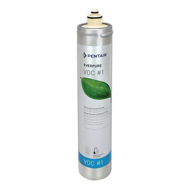 4 x EV927379 Everpure VOC 1 500 Gal. Kitchen Sink Water Filter Replacement Cartridge (4 Pack) 1