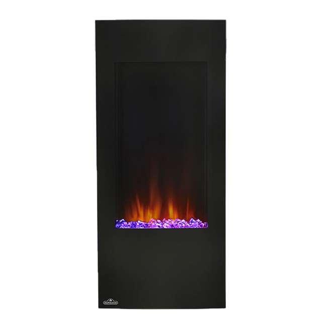 NEFV38H-OB Napoleon Azure Vertical 38 Inch Electric Fireplace w/ Remote(Open Box) 2