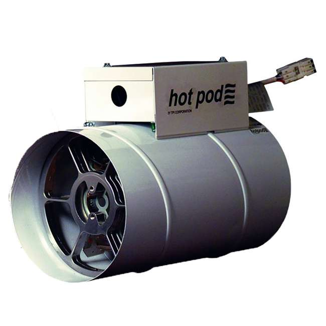"HP610001202T TPI HP6-1000120-2T Hotpod 3412 BTU 6"" Dia Hardwired Duct Mounted Electric Heater"