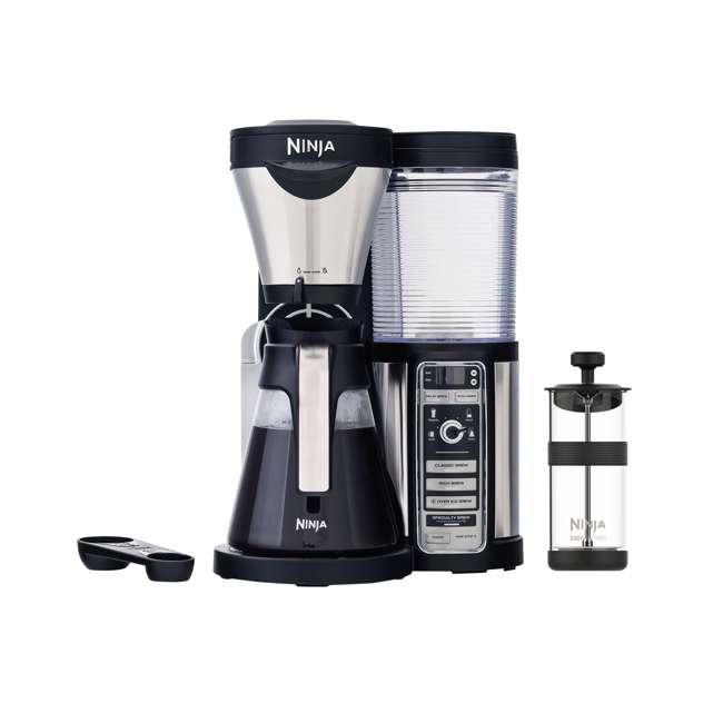 CF080REF_EGB-RB + CBCF090 Ninja CF080 Coffee Maker & Coffee Bar Recipe Guide (Certified Refurbished) 1