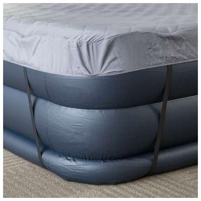 Intex Deluxe Queen Raised Pillow Air Mattress with Built ...