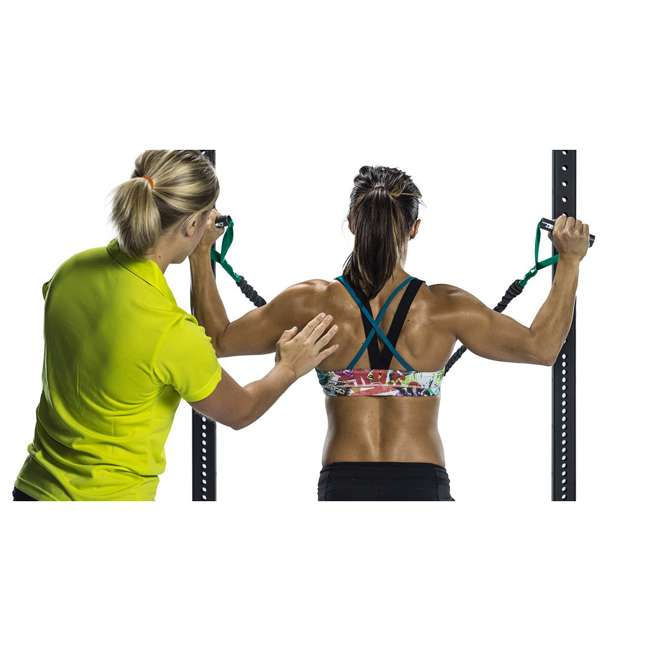 CSCRD-GN Crossover Symmetry Shoulder Resistance Home Exercise Crossover Cords, 3 Pounds 3