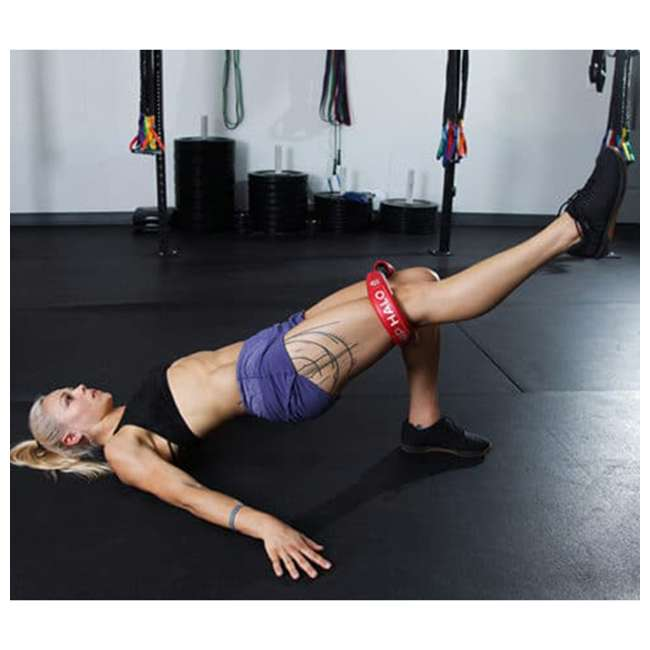 HH-B Crossover Symmetry CS Hip and Core Loop Heavy Resistance Band System, Blue 3