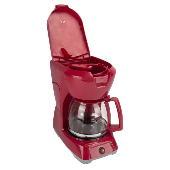 43603 Proctor Silex 43603 12-Cup Coffee Maker | Red 5